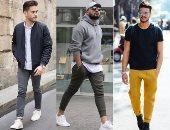قاموس الموضة الرجالى: لو زهقت من البنطلون الغامق نصائح للبس الفاتح