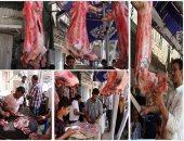 """""""عيد الفتة"""".. شوادر اللحوم تغزو شوارع القاهرة"""