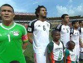 ترتيب مجموعة مصر بعد تعادل غانا مع الكونغو