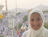 """دنيا سمير غانم من الحج: """"أنا دعيتلكم زى ما بتدعولى"""""""