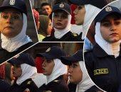فيديو.. الشرطة تحرس فرحة المصريين فى أعياد الربيع