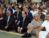 الرئيس السيسى وكبار رجال الدولة يؤدون صلاة عيد الأضحى المبارك