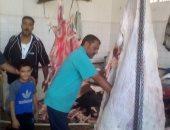"""بالصور.. """"اليوم السابع"""" داخل أحد مجازر ذبح الأضاحى فى المنيا"""