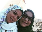 ناهد السباعى لوالدتها فى عيد الأم: أحلى وأقوى ست أعرفها فى حياتى