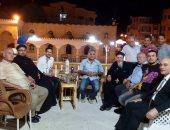 بالصور .. وفد من الكنيسة يقدمون التهنئة لرئيس مدينة بلطيم و رواد المصيف