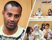 علاء الشربينى خارج المطبخ:  مبساعدش مراتى فى المطبخ لأنها أستاذة
