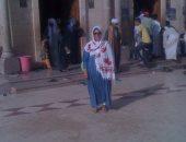 منى برنس عن زيارتها لضريح أبو الحسن الشاذلى ودير الأنبا بولا: راضية ومبسوطة