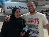 بالصور.. والدة الشهيد أحمد حجازى من الأراضى المقدسة: أدعو الله أن يحفظ مصر