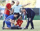 موهبة ريال مدريد جاهز لمواجهة إسبانيا وأستونيا رغم الإصابة