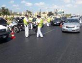 حملات مرورية لرصد متعاطى المواد المخدرة أثناء القيادة على الطرق السريعة