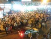 بالصور ..  إقبال كبير من أهالى كفر الشيخ على مصيف بلطيم ثانى أيام العيد