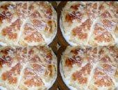 لو نفسك فى حلويات شرقية للعيد صينية الرقاق باللبن والمكسرات سهلة التحضير