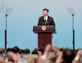 الرئيس الصينى يفتتح جسرا ضخما يربط هونج كونج وتشوهاى ومكاو