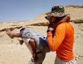 البيئة : عملية إنقاذ ناحجة لأحد زوار محمية وادي دجلة ونقله للمستشفى