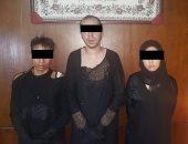 سقوط 3 أشخاص بمحل ملابس يرتديان النقاب قبل سرقتهما شقة صاحب المحل