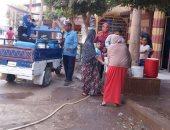 سكان شارع المدينة المنورة فى أرض اللواء يشتكون من انقطاع المياه