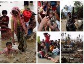 الأمم المتحدة: هروب 164 ألف شخص من ميانمار إلى بنجلاديش فى 14 يوم