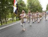 فريق الموسيقى العسكرية يقدم عروضا للجاليات المصرية والعربية بموسكو