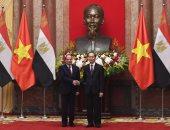السيسى يستعرض مع نظيره الفيتنامى برنامج مصر للتنمية الاقتصادية المستدامة