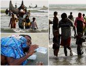"""""""هربا من الموت"""" مسلمو الروهينجا يفرون إلى بنجلادش"""
