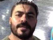 """خالد سليم ينشر فيديو من """"الجيم"""" ويعلق :أول أسبوع الأصعب"""