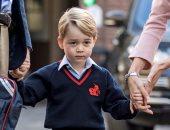 بالصور.. أول يوم دراسى للأمير جورج ابن الأمير ويليام