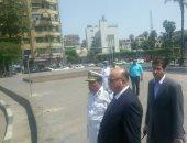 مدير أمن القاهرة يتفقد انتشار الخدمات الأمنية بالميادين عقب صلاة الجمعة