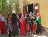 قافلة طبية متنقلة توقع الكشف على 74 مواطنًا غرب العريش