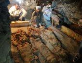 بالصور.. اليوم السابع داخل مقبرة أمنمحات المكتشفة حديثاً بالأقصر
