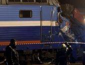 إصابة 13 شخصا فى حادث اصطدام قطار بسيارة غرب سيبيريا بروسيا