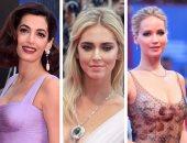 شاهد أجمل مجوهرات نجمات العالم بفعاليات مهرجان فينسيا أبرزهن لورانس وكروز