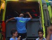 إصابة 10 عمال فى انقلاب ميكروباص بالإسماعيلية
