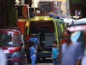 إصابة 8 أشخاص فى حادث انقلاب سيارة ملاكى بطريق غارب الغردقة