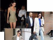 كيندال جينر تضع بصمة من ذهب على الـStreet style فى أسبوع الموضة بنيويورك