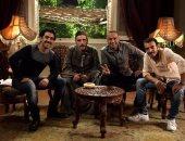 """شاهد.. محمود الجندى فى كواليس الجزء الثانى من مسلسل """"أفراح إبليس"""""""