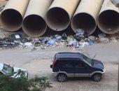أهالى منشية التحرير يشكون بطء عمليات الحفر الخاصة بمواسير الصرف