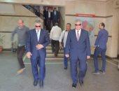 مساعد وزير الداخلية لوسط الدلتا يتفقد الخدمات الأمنية بقسم ومركز شبين الكوم