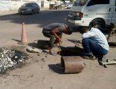 شركة مياه القناه: الإنتهاء من ربط خزان السلام 1و2 بقطاع السويس