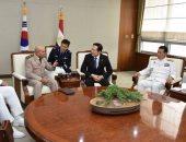 المتحدث العسكرى ينشر فيديو عودة وزير الدفاع بعد زيارة كوريا الجنوبية
