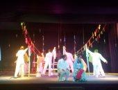 """عرض مسرحية مقتل الغجرية وطائفة الألمانيين بمهرجان نوادى المسرح بـ""""السامر"""""""