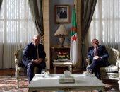 العرابى يلتقى رئيس البرلمان الجزائرى لبحث آليات دعم مشيرة خطاب فى اليونسكو