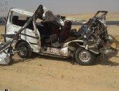مصرع شاب وإصابة آخرين فى إنقلاب سيارة بطريق دمياط /جمصة