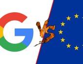 جوجل ترفض دفع 2.9 مليار دولار وتلجأ للمحكمة لإلغاء غرامة الاتحاد الاوروبى