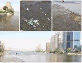 النيل يصرخ:  ارحمونى من القمامة والإهمال وقلة الذوق