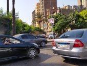 النشرة المرورية.. كثافات مرتفعة بمحاور وميادين القاهرة والجيزة