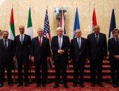 بالصور.. سامح شكرى يشارك فى الاجتماع السداسى لمناقشة الأزمة الليبية بلندن