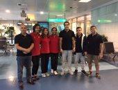 منتخب الجمباز يطير إلى فرنسا للمشاركة ببطولة كأس العالم