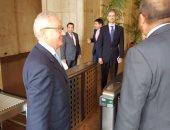 ننفرد بنشر أول صور لسفير إيطاليا بالقاهرة خلال تسليمه أوراق اعتماده بالخارجية