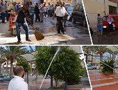"""جامعة الإسكندرية تستعد لاستقبال طلاب العام الدراسى الجديد بـ""""حملة نظافة"""""""