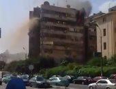 انتداب المعمل الجنائى لكشف ملابسات حريق شقة سكنية فى الدرب الأحمر
